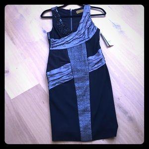 Nicole Miller | glam dress